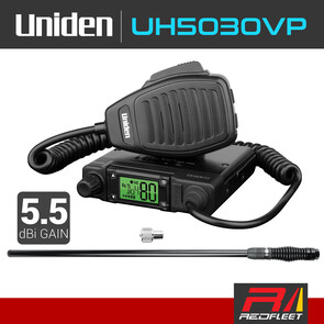 UNIDEN UH5030VP Value Pack UHF CB Two Way In Car Vehicle Radio