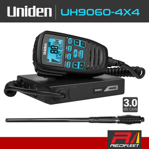 UNIDEN UH9060-4X4 Pack UHF CB Two Way In Car Vehicle Radio