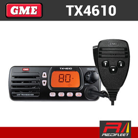 GME TX4610 IP67 UHF CB Two Way In Car Vehicle Radio
