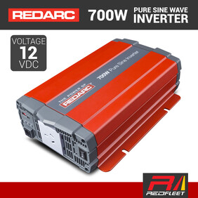 REDARC 700W 12VDC Pure Sine Wave Power Inverter for Vehicles