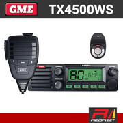 GME TX4500WS DIN Size UHF CB Two Way In Car Vehicle Radio with Wireless PTT