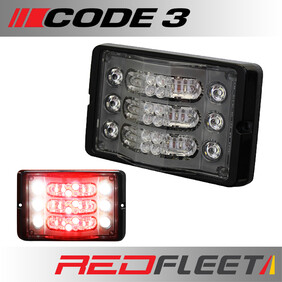 CODE 3 M180 L.E.D. Triple Stack Single & Multi-Colour Intersection Perimeter Surface Mount Light