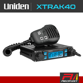 UNIDEN XTRAK40 UHF CB Two Way In Car Vehicle Radio