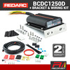 REDARC 50 Amp BCDC1250D Battery Charger with Universal Bracket & Wiring Kit