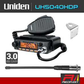 UNIDEN UH5040HDP Heavy Duty Pack UHF CB Two Way In Car Vehicle Radio