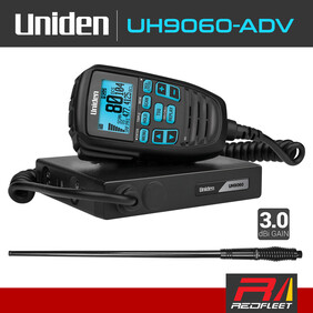 UNIDEN UH9060-ADV Pack UHF CB Two Way In Car Vehicle Radio