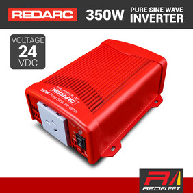 REDARC 350W 24VDC Pure Sine Wave Power Inverter for Vehicles
