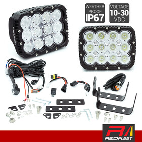 REDFLEET DARK-FORCE L.E.D. DRIVING LIGHTS PAIRED KIT