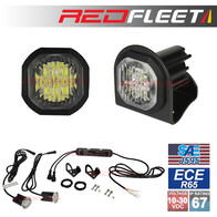 DART Series 2 Head L.E.D. Hide-A-Way Warning Light (PAIRED KIT)